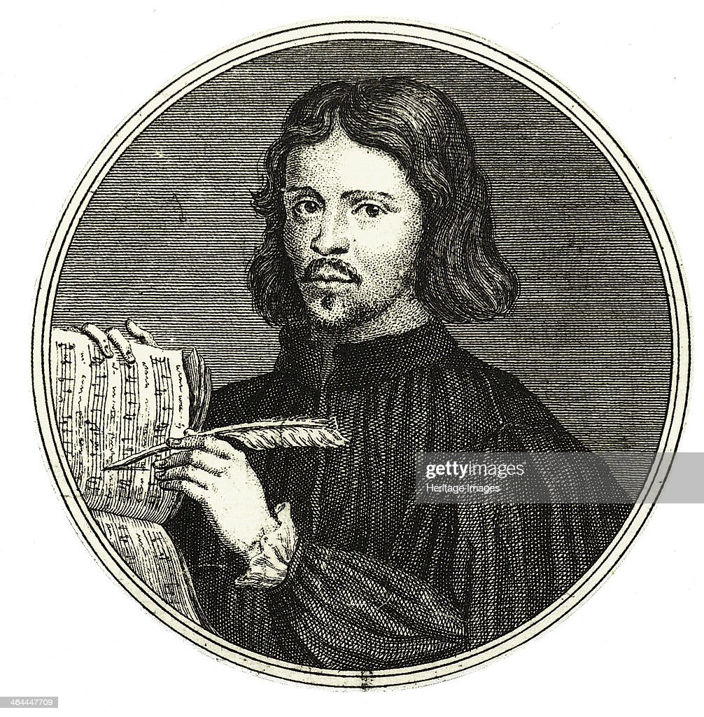 Composer Thomas Tallis. Found in the collection of the Russian State Library, Moscow.
