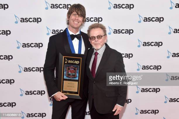 Composer Tim Cullen winner of the award for Top Television Cable Series for 'Teen Mom OG' and ASCAP President and Chairman of the Board Paul Williams...