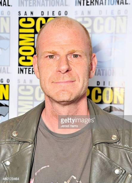 Composer Tom Holkenborg aka Junkie XL attends the 3rd Annual Superhero Music press room during ComicCon International 2015 at Hilton Bayfront on July...