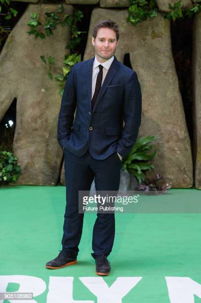 Composer Tom Howe arrives for the world film premiere of 'Early Man' at the BFI Imax cinema in the South Bank district of London January 14 2018 in...
