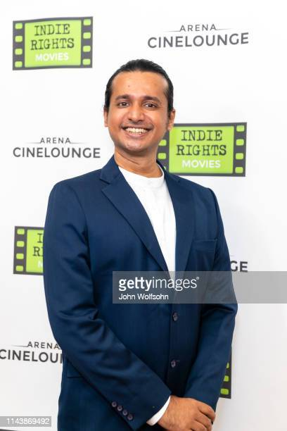 Composer Vedanth Bharadwaj attends the theatrical world premiere of Kaarthikeyan Kirubhakaran's musical drama 'His Father's Voice' at Arena...