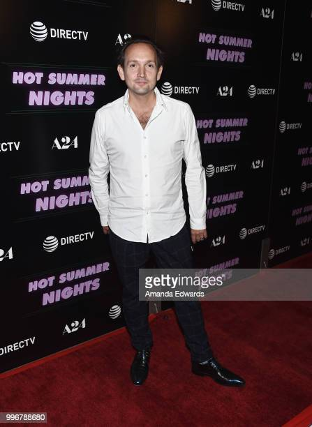 Composer Will Bates arrives at the Los Angeles special screening of 'Hot Summer Nights' at the Pacific Theatres at The Grove on July 11 2018 in Los...