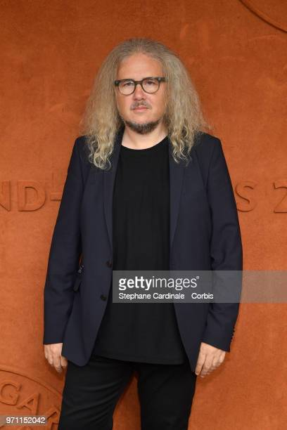 Composer Yvan Cassar attends the Men Final of the 2018 French Open Day Fithteen at Roland Garros on June 10 2018 in Paris France