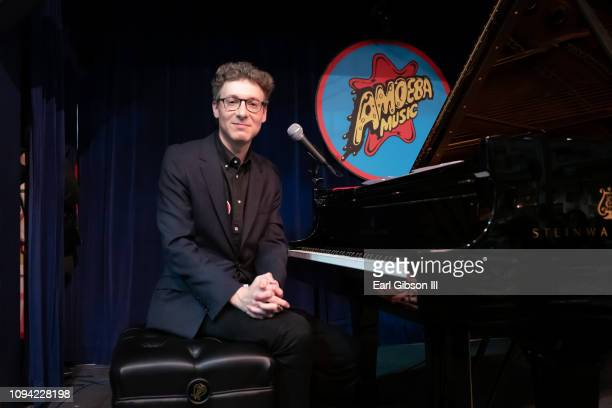 Composer/musician Nicholas Britell performs at Amoeba Music on February 5 2019 in Hollywood California