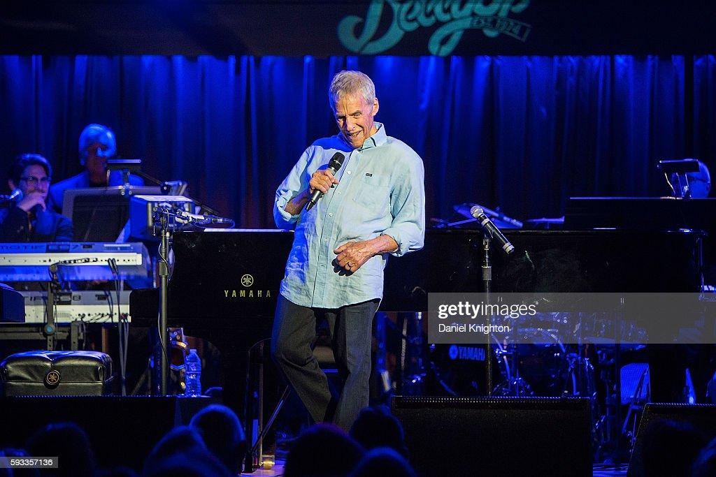 Burt Bacharach In Concert In Solana Beach : News Photo