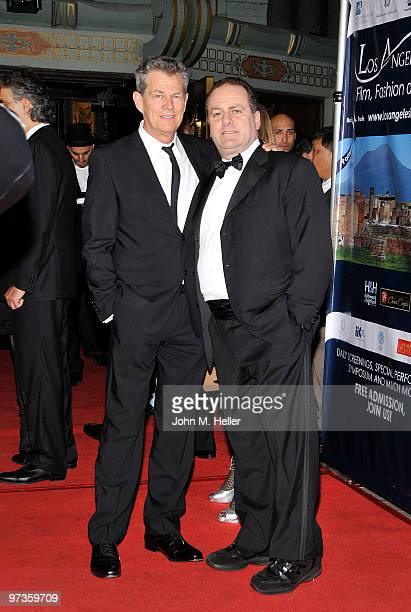 Composer/Producer David Foster and Founder/Producer Los Angeles Italia Film, fashion & Art Fest Pascal Vicedomini, attend the Los Angeles Italia...
