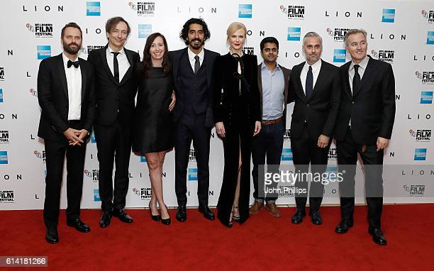 Composers Dustin O'Halloran Volker Bertelmann producer Angie Fielder actors Dev Patel Nicole Kidman Divian Ladwa producer Iain Canning and...