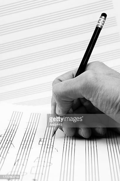 Composer's hand