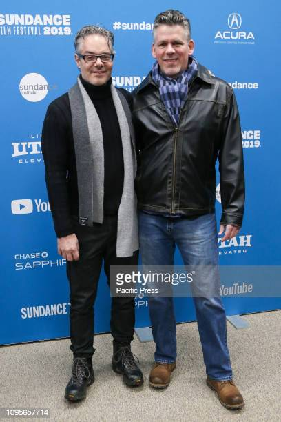 Composers Marco Beltrami and Dennis Smith attend the Extremely Wicked Shockingly Evil and Vile premiere at Eccles Theater during the 2019 Sundance...