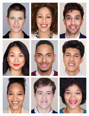 composite image of the diversity of people - gettyimageskorea