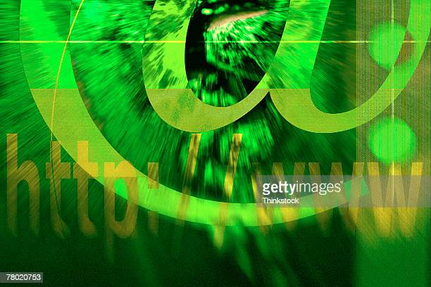 composite with at symbol - thinkstock stock photos and pictures