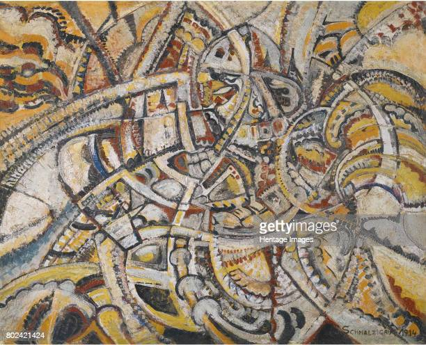 Composition Futuriste 1914 Private Collection