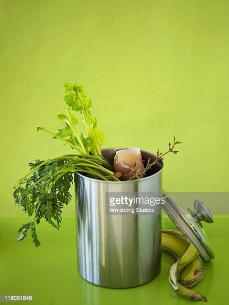 Compost Bin on Green Surface