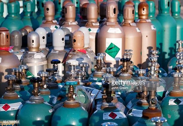 Compressed industrial gas products