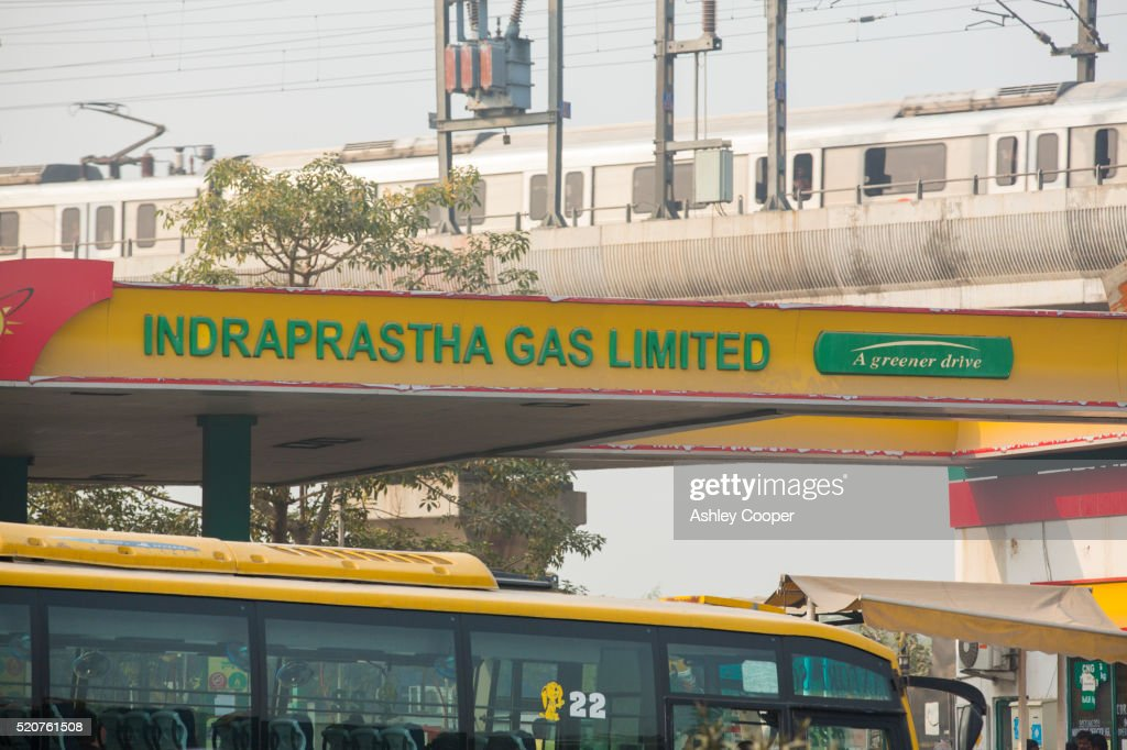 A Compressed Natural Gas Station In Delhi India All Of