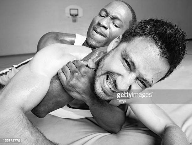 compromised - restraining stock photos and pictures
