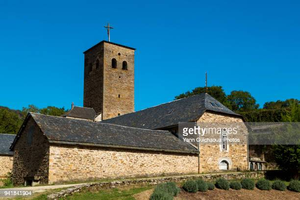 comps la grand ville, aveyron, occitanie, france - comps stock photos and pictures