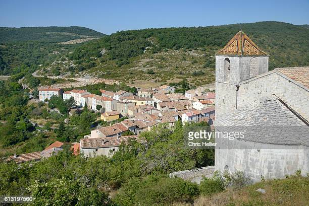 comps-sur-artuby or comps provence france - comps stock photos and pictures