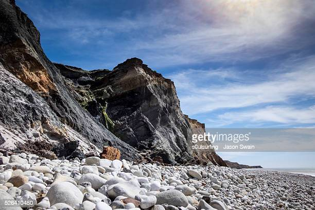 compton bay, isle of wight - s0ulsurfing stock pictures, royalty-free photos & images