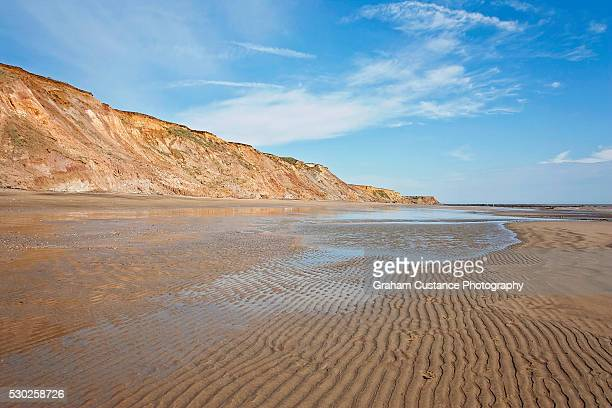 compton bay, isle of wight - isle of wight stock pictures, royalty-free photos & images