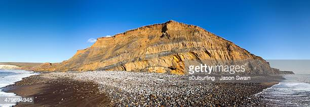 compton bay - compton bay isle of wight stock pictures, royalty-free photos & images