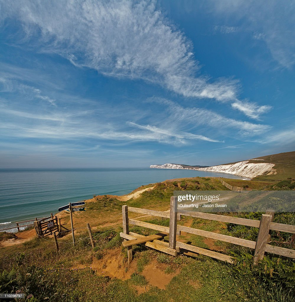 Compton Bay view : Stock Photo