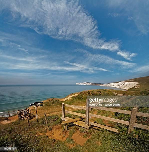 compton bay view - s0ulsurfing stockfoto's en -beelden