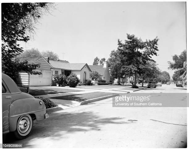 Compton California layout 22 August 1952 Compton Municipal PlungeVapor Recovery Systems CompanyJames Gilmore Las Campanas SanitariumDairs Glass...