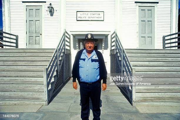 Compton chief of police at police station Compton CA