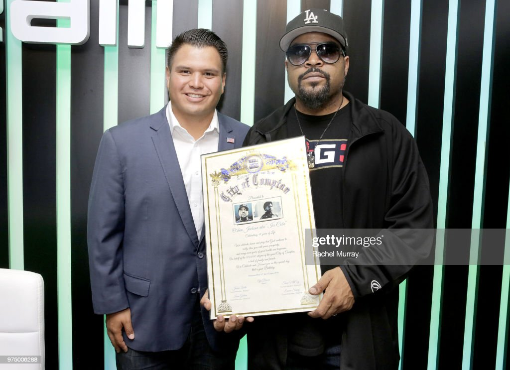 Dream Hollywood x Dash radio Launch Music Pop-Up with Ice Cube : News Photo