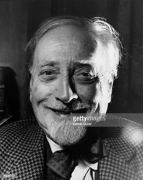 Compton Mackenzie author of over 100 books including 'Sinister Street', 'Carnival' and 'Whisky Galore'.