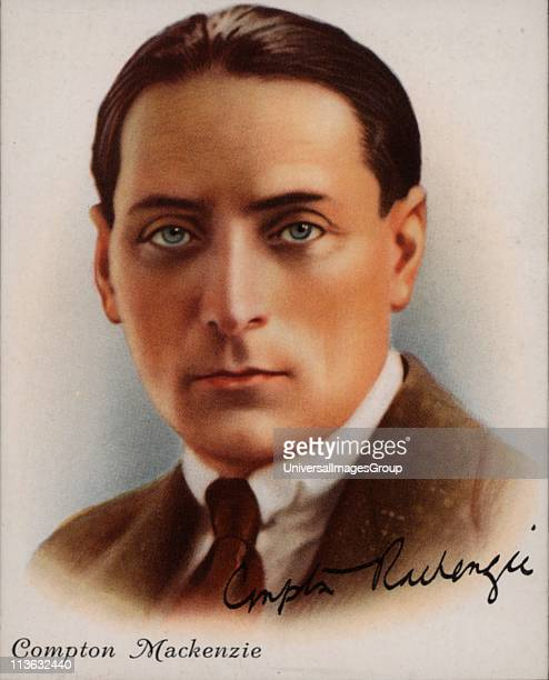 Compton Mackenzie British author of Scottish descent, born in West Hartlepool, England. Novelist, writer and broadcaster he was a co-founder in 1923...