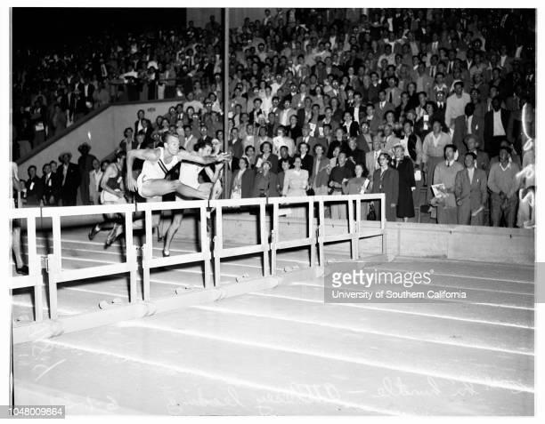 Compton track meet June 1 1951 SportsDick AttleseyJim Fuchs