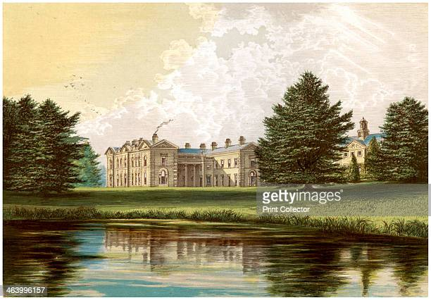 Compton Verney, Warwickshire, home of Lord Willoughby de Broke, c1880. The house had interiors designed by Robert Adam, with the grouds laid out by...