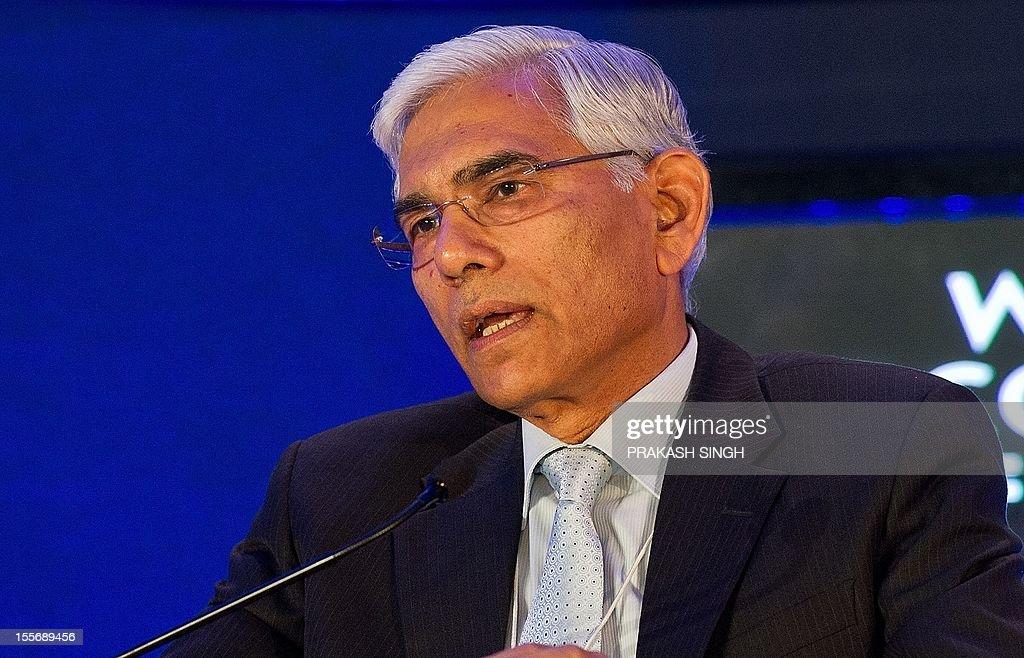 INDIA-ECONOMY-WEF-SUMMIT : News Photo