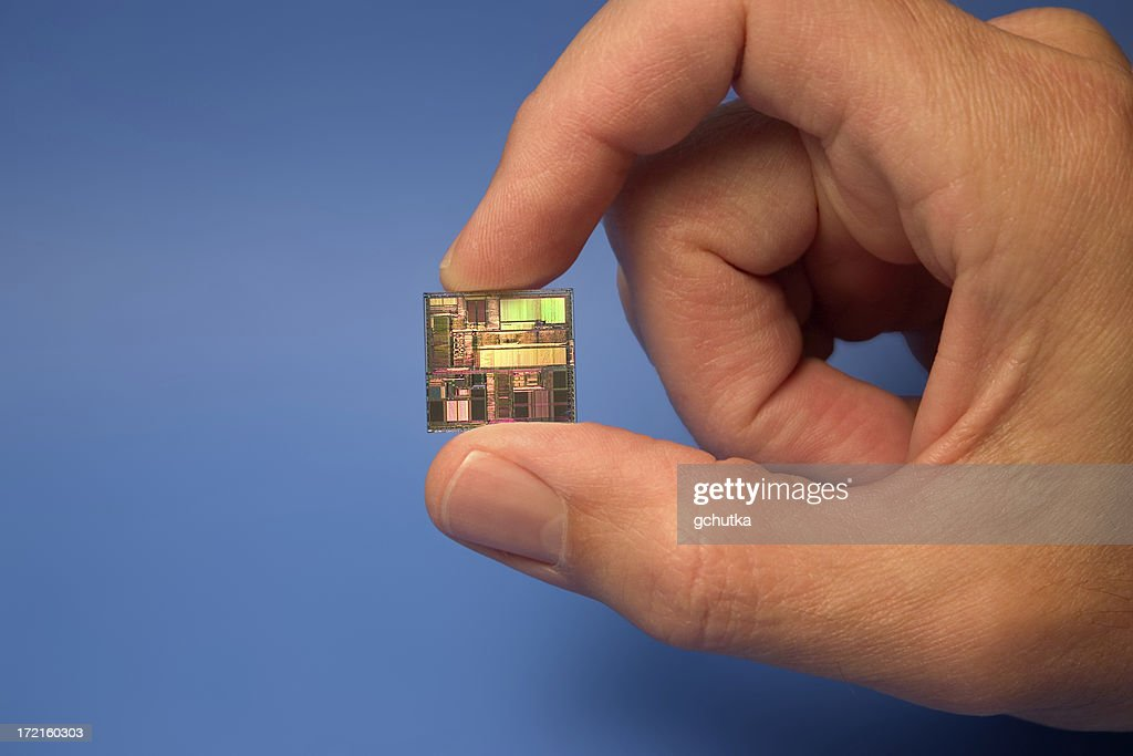Computer Chip : Stock Photo