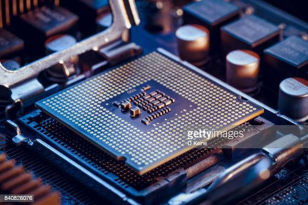 computer chip - computer chip stock pictures, royalty-free photos & images