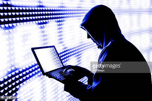 computer code hacker