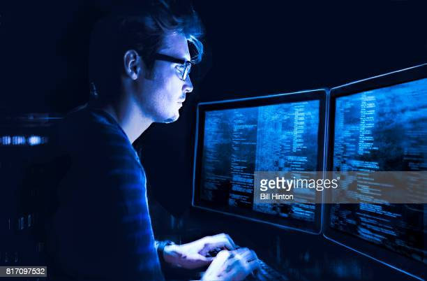 computer code writer - binary code stock pictures, royalty-free photos & images