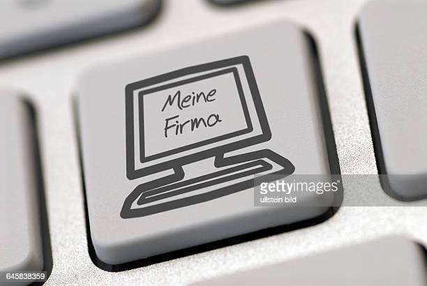 Computer Computertastatur Tastatur online Online Zeichen Symbol Symbole Taste Tasten Firma Firmen Firmengründung Firmengründungen Neugründung...