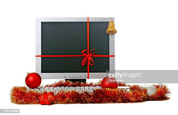 Cadeau de Noël-ordinateur