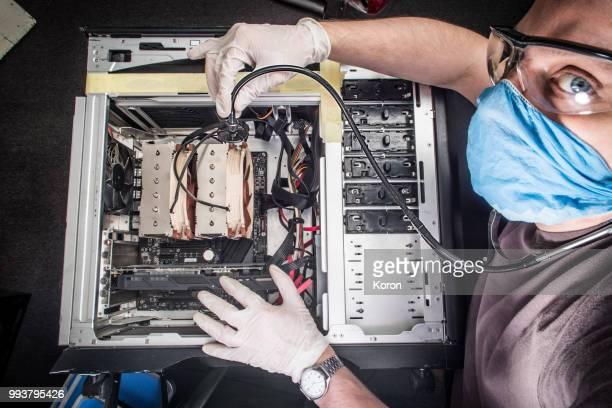 computer doctor fixes computer