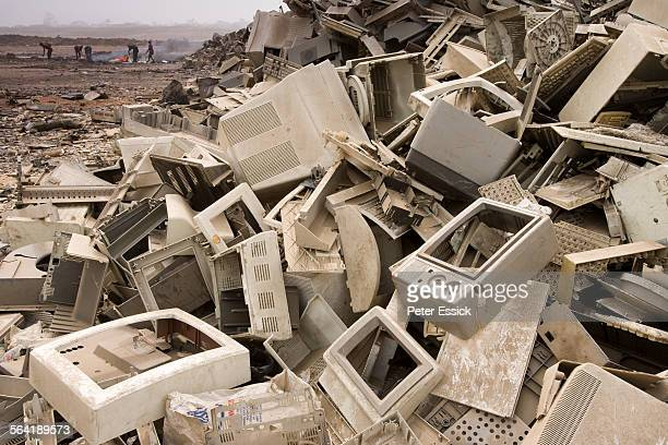 Computer dumping in Accra, Ghana