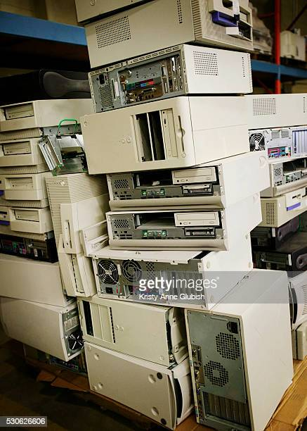 Computer Equipment in a Stack