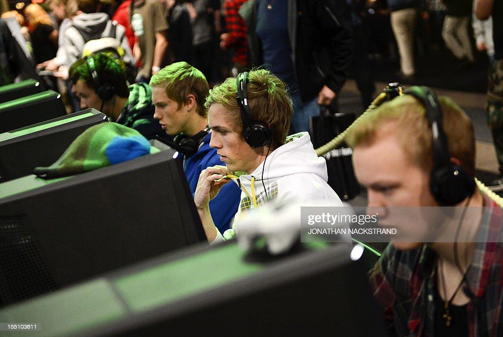 SWEDEN-COMPUTER-GAMES-FAIR-GAMEX : News Photo