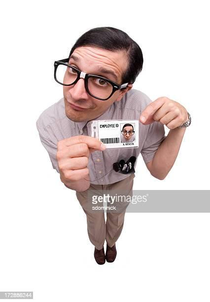 Computer Geek: Employee ID Badge