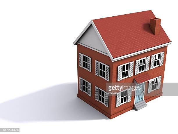 Computer Generated Drawing Of A House