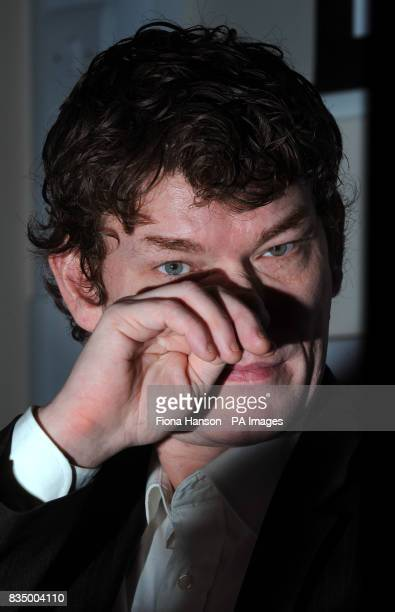 Computer hacker Gary McKinnon from Wood Green north London arrives to hold a press conference at Doughty Street Chambers in London regarding a fresh...