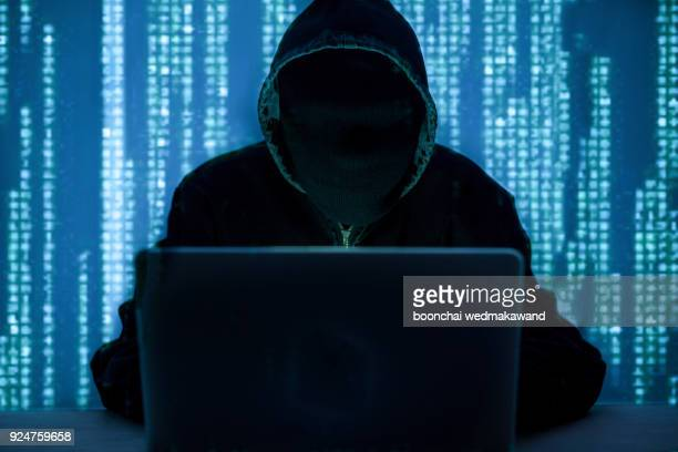 computer hacker or cyber attack concept background - violence stock pictures, royalty-free photos & images