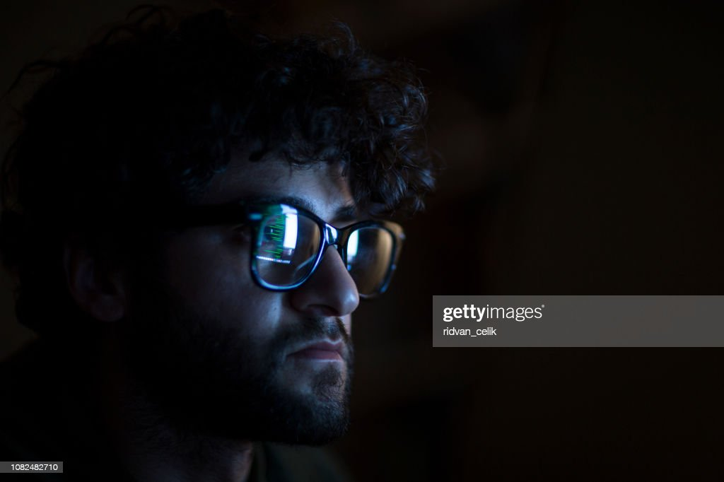 Computer hacker : Stock Photo